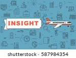 "airplane with banner ""insight""... 