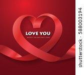 Ribbon Heart Love.vector...