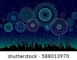 vector illustration of a... | Shutterstock .eps vector #588013970