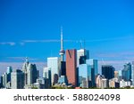 Beautiful Toronto city skyline, Ontario, Canada