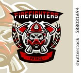 colorful logo  emblem  sticker  ... | Shutterstock .eps vector #588031694