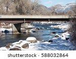 bridge over the freezing animas ...