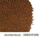 pile of instant coffee grains.... | Shutterstock . vector #588049388