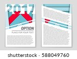 abstract vector layout... | Shutterstock .eps vector #588049760