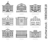 education and government... | Shutterstock .eps vector #588060818