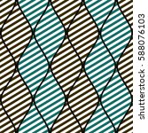 seamless vector abstract... | Shutterstock .eps vector #588076103