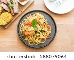 Stir Fried Spicy Spaghetti Wit...
