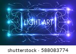 abstract vector frame and the...   Shutterstock .eps vector #588083774