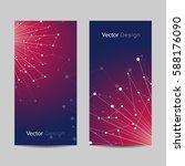 set of vertical banners.... | Shutterstock .eps vector #588176090