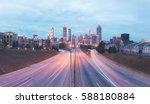Panorama of modern city skyline ...