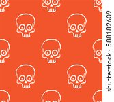 seamless pattern with hand... | Shutterstock .eps vector #588182609
