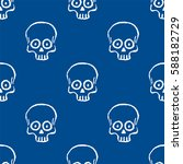 seamless pattern with hand... | Shutterstock .eps vector #588182729