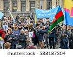 kyiv  ukraine   february 26 ... | Shutterstock . vector #588187304