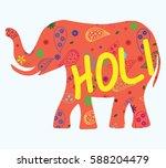 Elephant Silhouette Pattern An...
