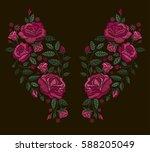 vector design for collar t... | Shutterstock .eps vector #588205049