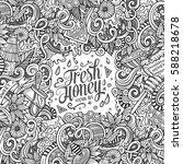 cartoon cute doodles hand drawn ...   Shutterstock .eps vector #588218678
