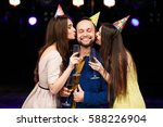 party  holidays  celebration ... | Shutterstock . vector #588226904