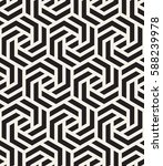 vector seamless pattern with... | Shutterstock .eps vector #588239978