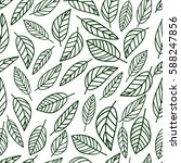 seamless pattern hand drawn... | Shutterstock .eps vector #588247856