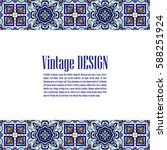 vintage banner for business and ... | Shutterstock .eps vector #588251924
