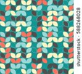 geometric seamless pattern... | Shutterstock .eps vector #588268028