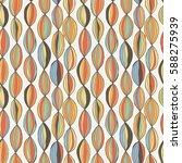stylish wave line seamless...   Shutterstock .eps vector #588275939