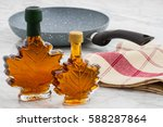 natural organic delicious maple ... | Shutterstock . vector #588287864