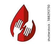 blood donation medical icon   Shutterstock .eps vector #588293750