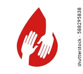 blood donation medical icon   Shutterstock .eps vector #588295838