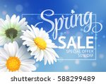 Spring Sale Concept. Summer...