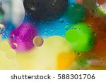 bubbles with colors abstract...   Shutterstock . vector #588301706