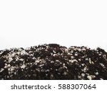 vermicompost fertilizer perlite.... | Shutterstock . vector #588307064