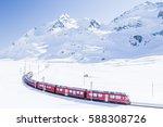 Bernina Express In Winter ...