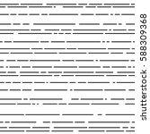 vintage linear seamless vector... | Shutterstock .eps vector #588309368