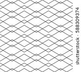 seamless geometric vector... | Shutterstock .eps vector #588309374