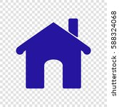 vector home icon illustration....