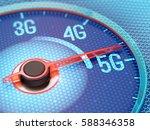 ultrafast 5g wireless network... | Shutterstock . vector #588346358