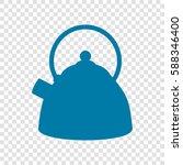 kettle sign illustration.... | Shutterstock .eps vector #588346400
