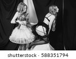 black and white art photography ...   Shutterstock . vector #588351794