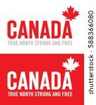 vector canada emblem | Shutterstock .eps vector #588366080