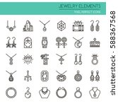 Jewelry Elements   Thin Line...