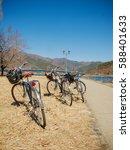 bikes | Shutterstock . vector #588401633