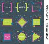 abstract concept vector empty... | Shutterstock .eps vector #588407339