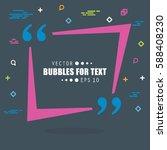 abstract concept vector empty... | Shutterstock .eps vector #588408230