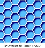 corporate style of cells. blue... | Shutterstock .eps vector #588447230