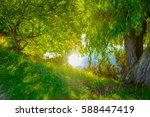 copenhagen  is the capital and... | Shutterstock . vector #588447419