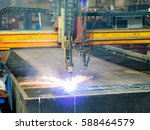 high precision cnc gas or...   Shutterstock . vector #588464579