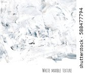 white  gray marble watercolor... | Shutterstock . vector #588477794