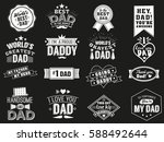the variety of black and white... | Shutterstock .eps vector #588492644