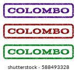 colombo watermark stamp. text... | Shutterstock .eps vector #588493328